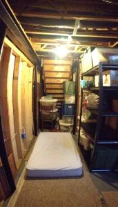 Austins bedroom at Rossows